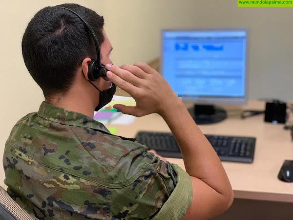 Los rastreadores militares de canarias alcanzan su cuarto mes de entrega y trabajo apoyando a combatir la pandemia en las islas