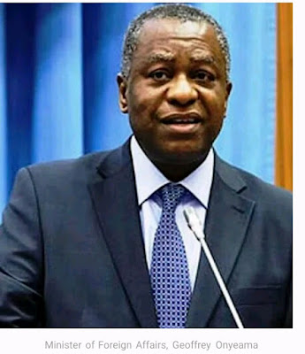 Geoffrey Onyeama,  the Minister of Foreign Affairs tests positive  for Coronavirus