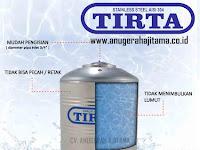 Tangki Air Merk Tirta Produk Tandon Air Stainless Berkualitas