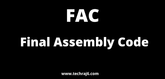 FAC full form, What is the full form of FAC