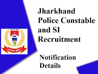 Jharkhand Police Constable SI Recruitment 2020 JSSC Police Recruitment 2020 Posts of SI Constable Jharkhand Constable SI Vacancies 2020 IRB General Constable Jobs 2020 Check Eligibility Last Date Apply Online Jharkhand Police Constable Recruitment 2020 Apply Online