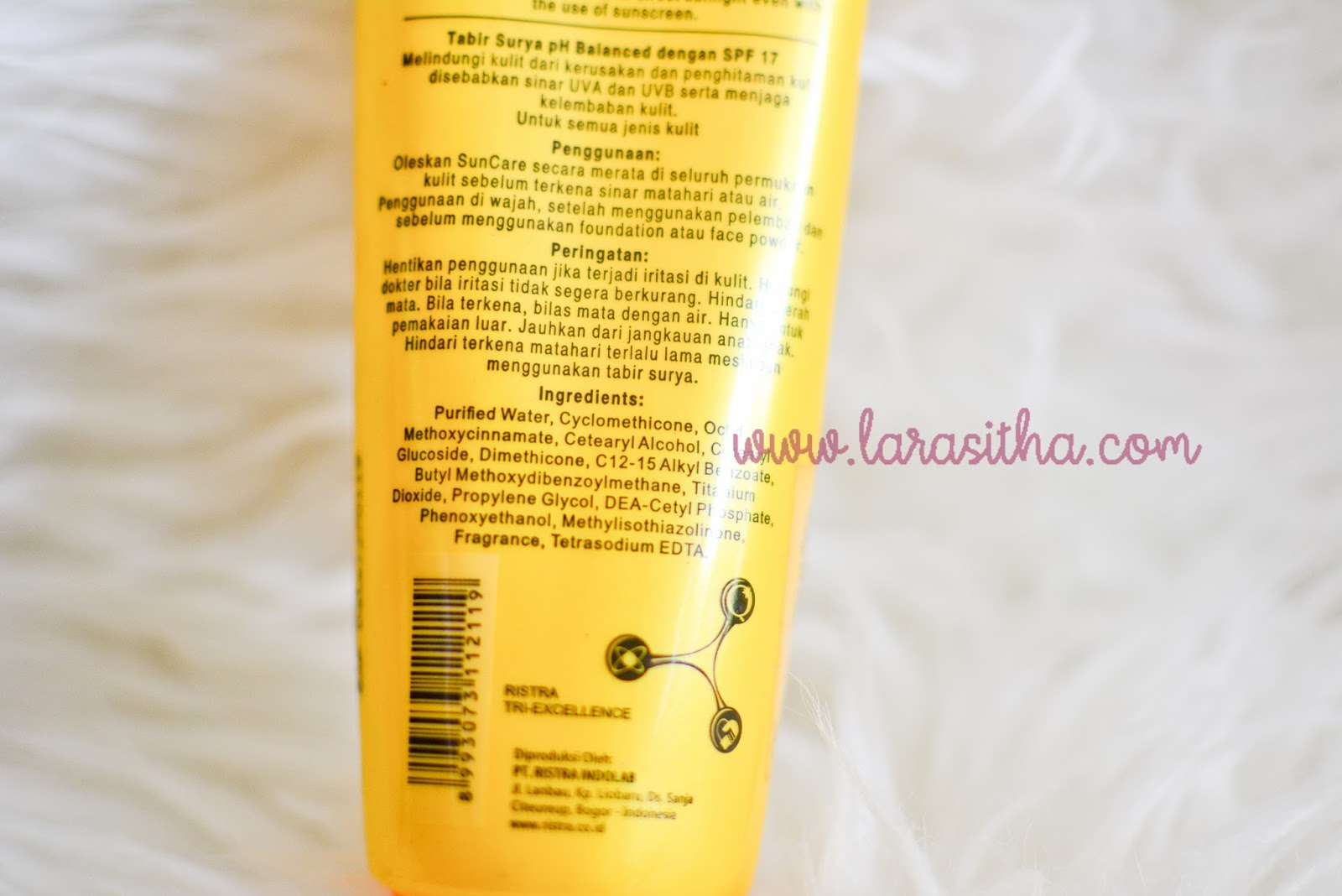 Review Sun Protection Emina Vs Suncare Ristra A Journal By Larasitha Sunscreen Kandungan Spf 17