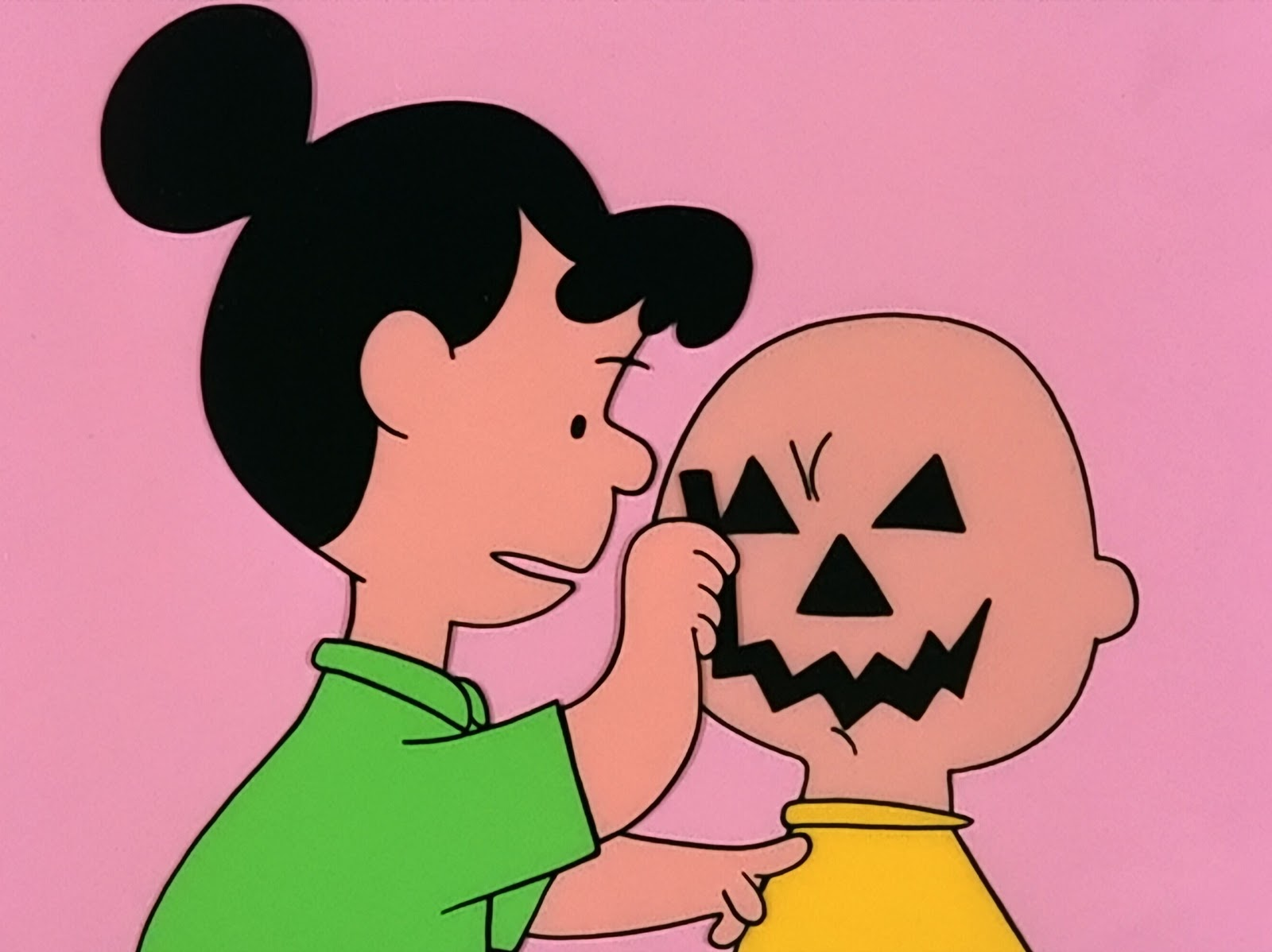In the original comic strip though it was Patty Swanson (not to be confused with Peppermint Patty) who uses Charlie Brownu0027s frowning face ... & Great Pumpkin Where Are You?: 1951: First Peanuts Halloween