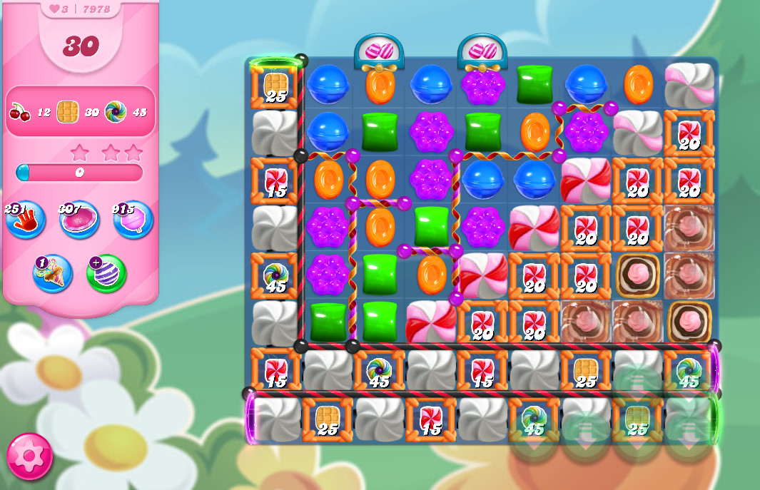 Candy Crush Saga level 7978