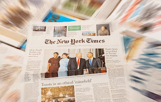 Documentaireserie over The New York Times op NPO 2