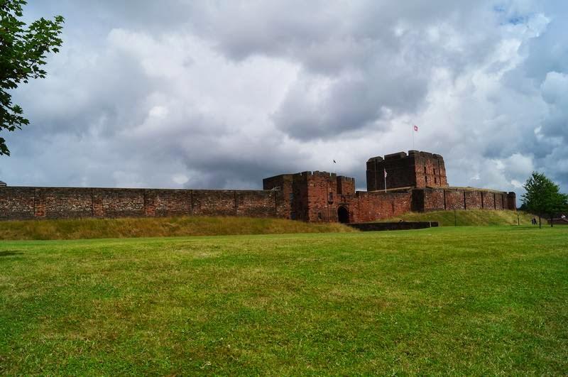 castillo de Carlisle, muro de adriano, castillos normandos