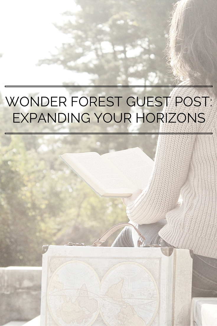 Wonderforest Guest Post: Expanding Your Horizons
