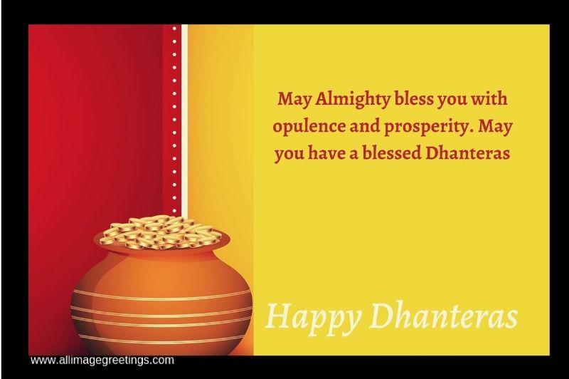 Happy Dhanteras wish image
