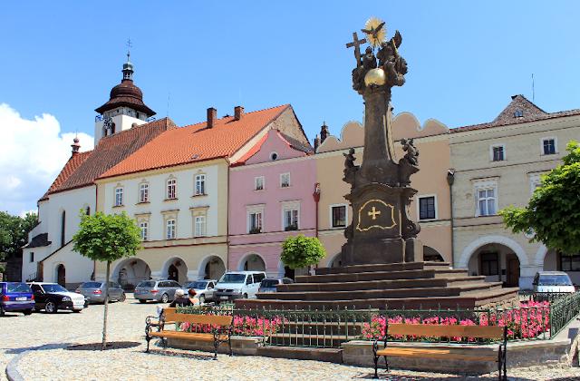 Bairro Nové Mesto - Cidade Nova em Praga