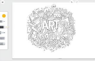 موقع تابع لغوغل يتيح لك الرسم عن طريق المتصفح بدون الحاجة الى برامج او تطبيقات