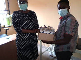 YMLSF Ondo State donate hand sanitizer to Infectious Disease Hospital Akure