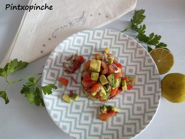 avocado, aguacate, tomate, tartar, ensaladas, sin gluten, lima,