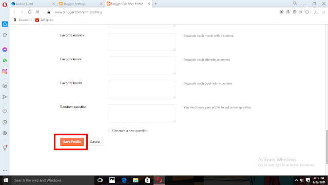How to change blogger contact form email Address [Step by Step]