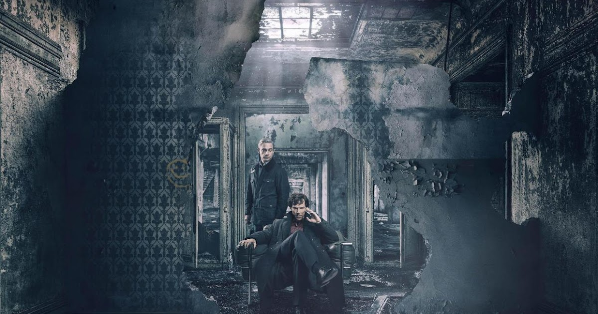 Sherlock Series... Benedict Cumberbatch As Sherlock