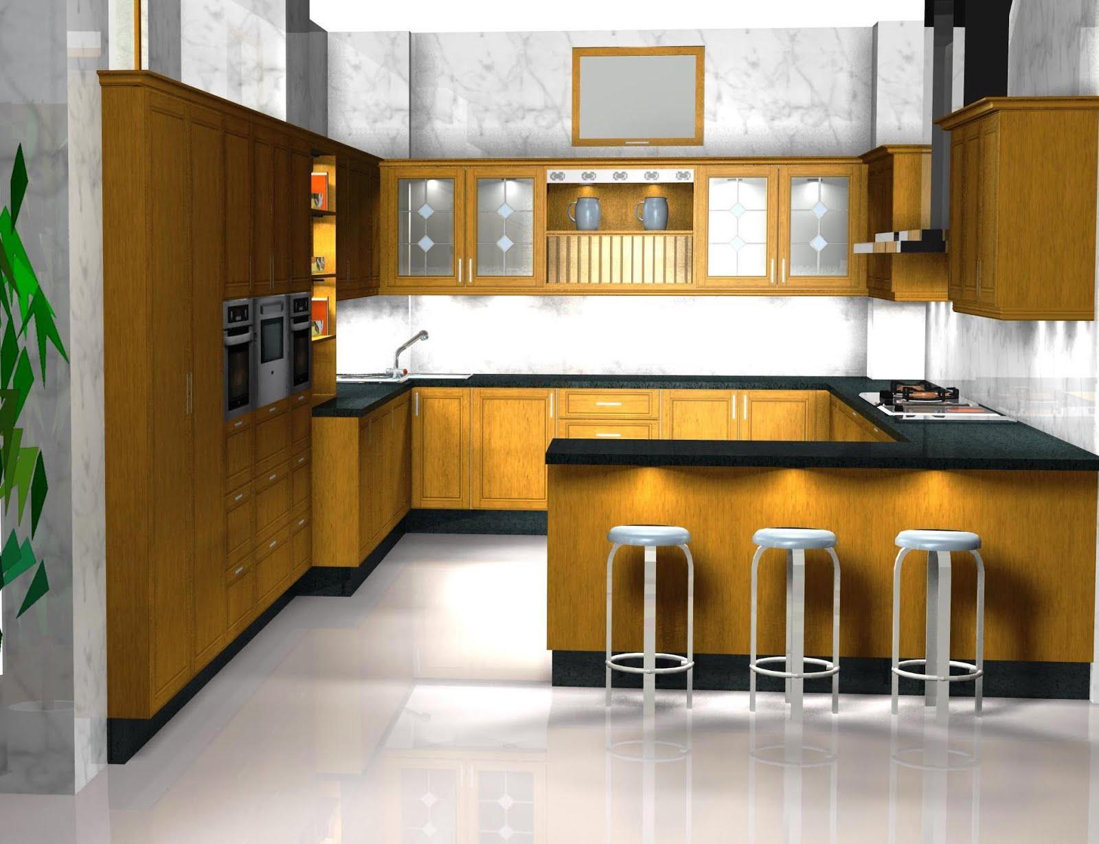 Diseo muebles de cocina Cocina lacada en blanco y negro