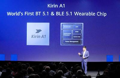 Richard Yu memperkenalkan Kirin A1