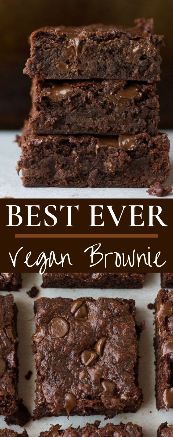 Best Ever Vegan Brownies #vegan #vegetarian