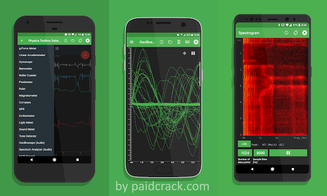 Physics Toolbox Sensor Suite Pro Paid Apk