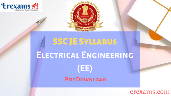 SSC JE Syllabus Electrical PDF Download
