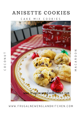 Coconut Macaroon Anisette Cookies Cake Mix Cookies