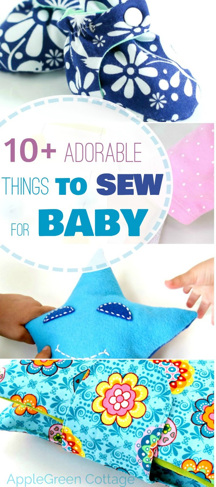 10 Adorable Things To Sew For Baby Applegreen Cottage