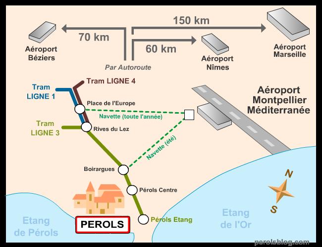 Navette aéroport Montpellier
