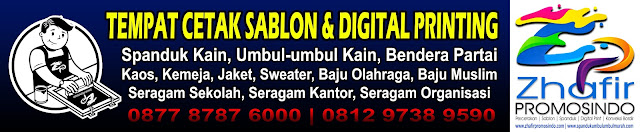 Spanduk Umbul Umbul Kain di Jakarta