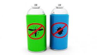 Contoh Produk Insektisida yang Tersedia dalam Kemasan