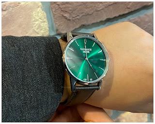 WATCHMAKER MIRANO ウオッチメーカーミラノ  GUMENDA GREEN  クラシック レトロ イタリア イタリア時計 オシャレ ミラノ