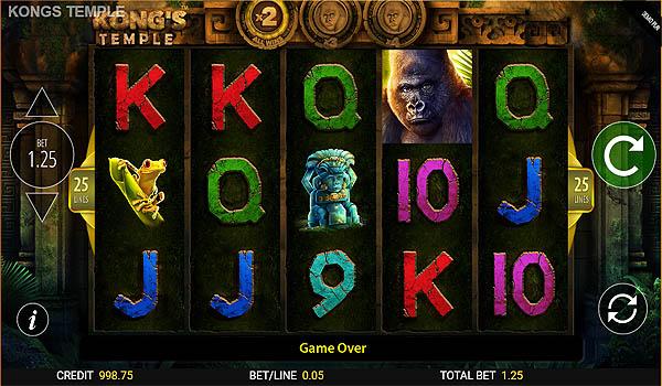 Main Slot Gratis Indonesia - Kong's Temple (Blueprint Gaming)