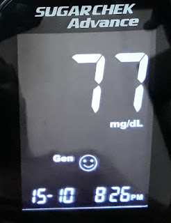 Wokhardt Sugarcheck Advnce, blood sugar testing at home