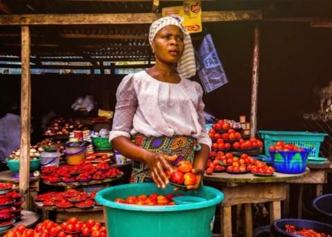 Ghanaian Woman Selling In 2021