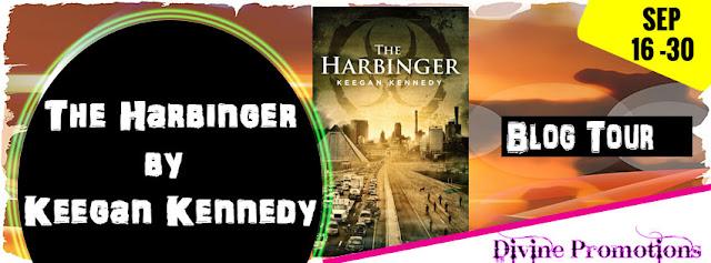 Release Banner-The Harbinger-Keegan Kennedy