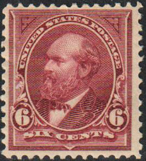6c James A. Garfield