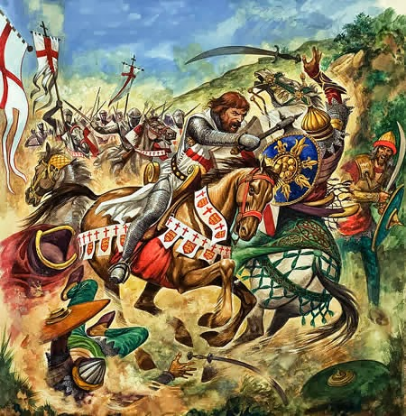 a history of the christian crusades The real history of the crusades a series of holy wars against islam led by power-mad popes and fought by religious fanatics think again.