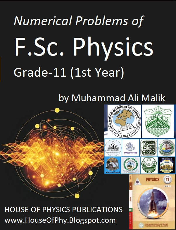 F Sc  Physics, 1st Year Solved Numerical Notes - HOUSE OF PHYSICS