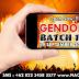 Pendaftaran Gendon Batch 11