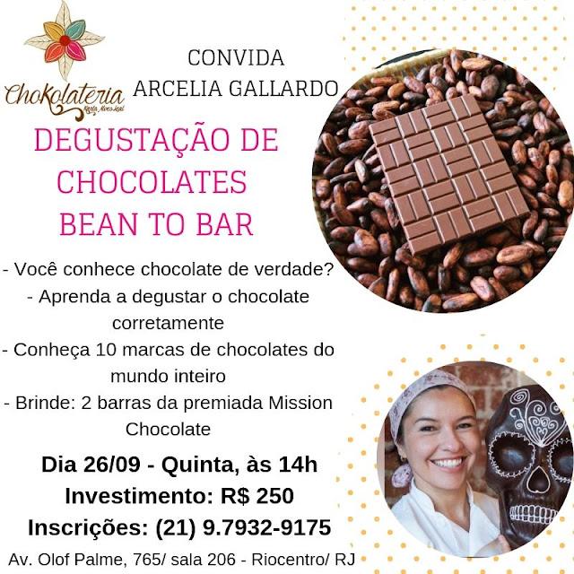 Agenda de Aulas Chokolateria - Setembro 2019