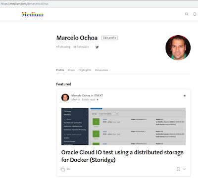 Marcelo Ochoa | Oracle FAQ