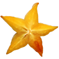 starfruit fruit icons