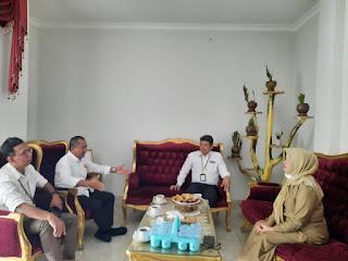 Banyak Membantu Selama Jadi Manajer PLN Sinjai,Andi Selle Pamit Ke Wakil Bupati Pindah Tugas Ke Sulbar
