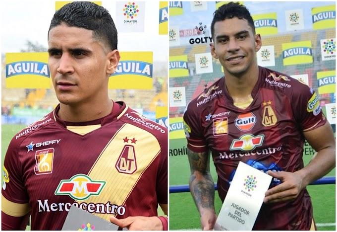 ¡Por buen camino! Así avanza la recuperación de Daniel Cataño y Yeison Gordillo, del DEPORTES TOLIMA