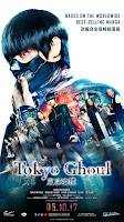 Tokyo Ghoul live action movie poster malaysia