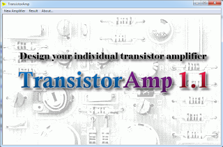 Screenshot 1 : TransistorAmp