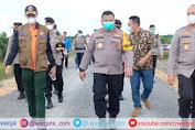 Kapolda Jambi Tinjau Posko Membumi Sigap Karhutla di Desa Muntialo