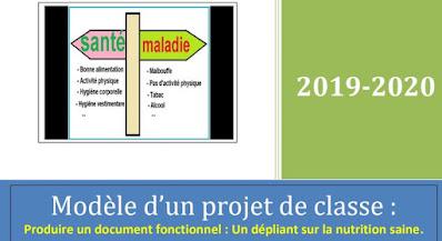 modèle d'un projet de classe