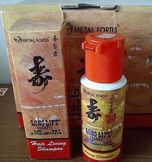 Shampo metal fortis asli tersedia warna merah dan hijau