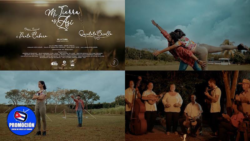 Quinteto Criollo - ¨Mi Tierra es así¨ - Videoclip - Dirección: Yiria Otaño - Yaima Ceruto. Portal Del Vídeo Clip Cubano. Música cubana. Punto Guajiro.