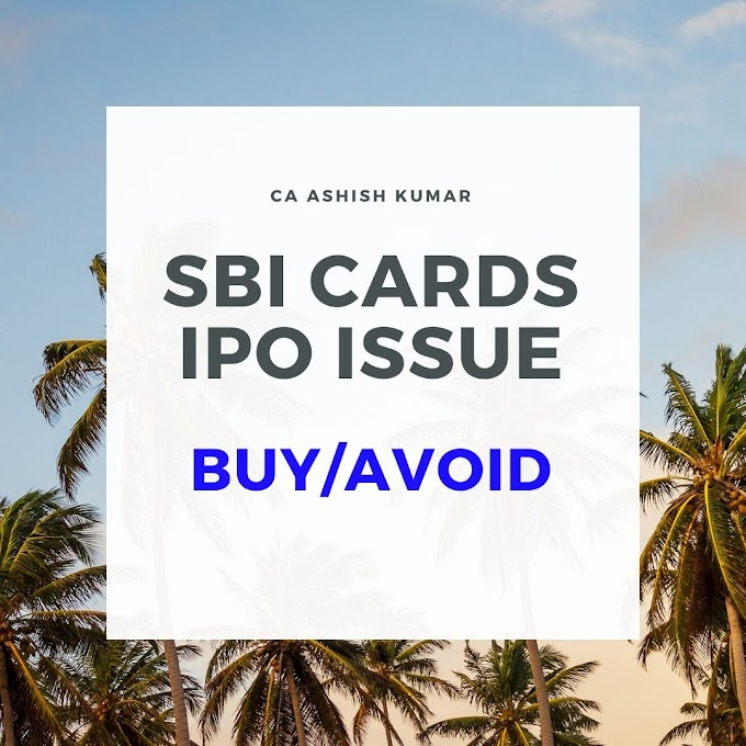 Should You Buy SBI CARDS IPO?