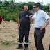 Intendente Cr. Jorge Reyna realizó recorrida por el vertedero y se reunió con el Director de Servicios